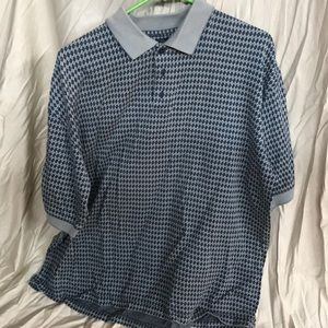 LIKE NEW MENS BOLLE GOLF SHORT SLEEVE POLO